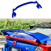 Fit For Honda Civic 10th 2016-2020 Blue Car Rear Spoiler Sports Car Tail Wing
