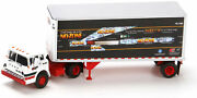 Athearn Ho Scale Ford C W/ 28' Truck Trailer Consolidated Freightways/cf/no Zone