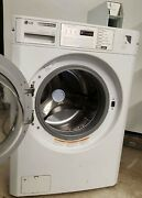 Lg White Front Load Washer Coin Op 120v 60hz 5a S/n 302kwsb8p246 [refurb.]