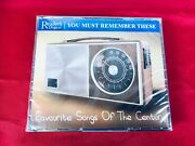 New 3 Cdand039s Readers Digest You Must Remember These Favourite Songs Of The Century
