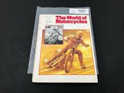 The World Of Motorcycles Illustrated Encyclopedia Book Magazine Volume No.9 P338