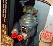 ✰ Lost In Space The Classic Series Electronic Robot B-9 1997 Trendmasters