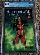 Witchblade Gallery 1 Dynamic Forces Blue Foil Variant - Cgc 9.8