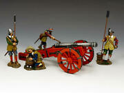 King And Country Pike And Musket Sgs-pnm001 English Civil War Cannon Set