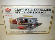 Model Power Ho Scale Grow Well Fertilizer Office And Storage 314 Nib