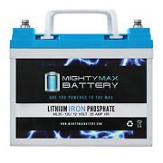 Mighty Max 12v 35ah U1 Lithium Battery For Craftsman 25780 Lawn Tractor / Mower