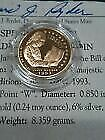 1/4 Oz Gold Bullion Proof Coin Bill Of Rights .24 Troy Oz Of Gold Great Color