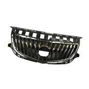 Fit For Buick Regal 2014 2015 2016 2017 4-door Front Upper Grille Chrome Grill