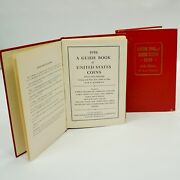Lot Of 2 Official Red Books The 11th Edition-the 1958 Guide Book Of The Us Coins