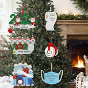 Xmas Merry Christmas Decorations For Home Tree Personalized Diy Hanging Santa