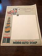 Rare Aalding Supply Manchester New Hampshire Mobo Auto Soap Order Form