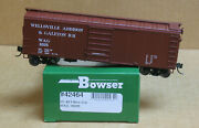 Bowser 42466 Ho Wellsville Addison And Galeton 40and039 Box Car 8009