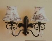 Partylite Chateau Candle Lamp Sconce Nib Retired P8270