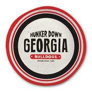 Univeristy Of Georgia 13 X 3 Inch Hunker Down Melamine Game Day Bowl By
