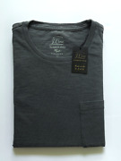 J Crew Mens Pocket T-shirt Nwt Grey Garment Dyed Up To 54 Off Msrp