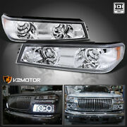 For 2004-2012 Chevy Colorado Gmc Canyon Clear Bumper Signal Corner Lights Lamps