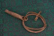 Working Antique Old Trap Blacksmith Hand Forged Wrought Iron