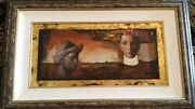 Realization By Tony Chow Original Oil Very Rare With Coa Low Low Price