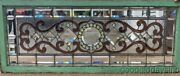 Antique Chicago Victorian Stained Leaded Glass Window W/ Bevels And Jewels 56 22