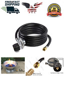 Omg12 Ft Replacement Propane Hose And Regulator Assembly For Mr Heater Freeship