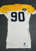 1994 Steve Mcmichael Green Bay Packers Throwback Game Used Worn Football Jersey