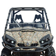 Clearly Tough Can-am Commander Full Folding Windshield