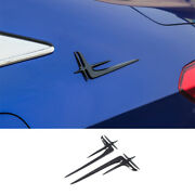 Abs Carbon Fiber Automobile Body Side Mark Decoeation For Honda Accord 2018-20