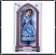 [disney Store] Anna Doll - Olafand039s Frozen Adventure - Limited Edition - New