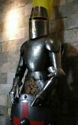 Full Suit Of Armor Medieval Wearable Greek Collectible Costume Knight Crusader