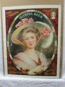 Olympia Beer Brewing Co. Ad Print Vintage Poster Bar Garage Cng102
