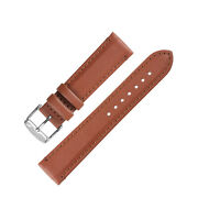Morellato Rowing Water-resistant Calfskin Leather Watch Strap In Gold Brown
