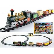 Battery Operated Lighted And Animated Continental Express Train Set With