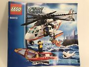 Lego City Coast Guard Helicopter Manual Only