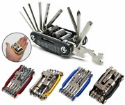Bicycle Repair Tool Set Wrench Screwdriver Chain Carbon Steel Multi-function Kit