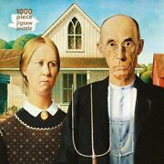 Adult Jigsaw Puzzle Grant Wood American Gothic 1000-piece Jigsaw Puzzles Engl