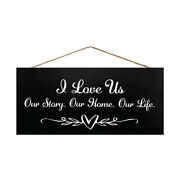 Jennygems I Love Us Our Story Our Home Our Life   Farmhouse Modern Decor Signs
