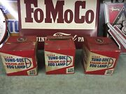 Tung-sol Clear Fog Lamp 3 New In The Box. 4412