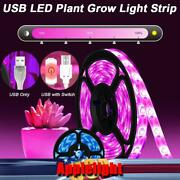 Usb Plant Grow Led Strip Light Dimmable Touch Switch Waterproof Led Grow Strips