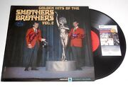 Smothers Brothers Tom And Dick Autographed Record Album Golden Hits - Jsa Coa