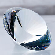 60-200mm Huge Crystal Diamond Glass Cut Home Decor Personalized Ornaments Gifts