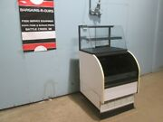 Columbus Show Case Dual Zone Nsf Lighted Refrigerated Display Merchandiser