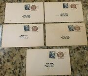Lot Of 5 Postcards Us Postage Paul Revere Patriot 6 Cents W/2 Cent Stamp