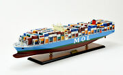 Mol Triumph Container Ship 39.5 Handcrafted Wooden Ship Model 1400 Scale