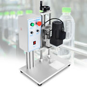 Desktop Electric Round Bottle Screw Capping Machine 110v 10-50mm Capper Packing