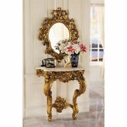 Katlot Madame Antoinette Wall Console Table And Salon Mirror