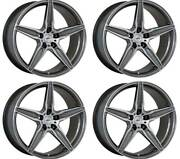 4 Alloy Wheels Oxigin 21 Oxflow 10.5x20 Et50 5x114 Titan For Ford Mustang