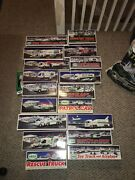 Hess Truck Holiday Collection 1993 -2012 In Boxes, Excellent Condition
