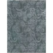 Surya Can-2078 Modern Classics Area Rug 8and039 X 11and039 Medium Gray/white