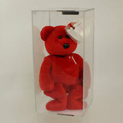 Authenticated Ty Beanie Baby - 1 Bear Signed By Ty Warner - 98 Of 253 Mwnmts