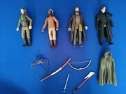 Lot Of 4 2006 Tiger Aspect Robin Hood Figures And Loose Accessories
